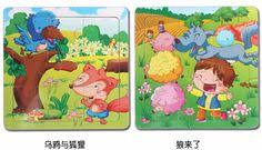 Multifunctional Educational <b>Farm Jungle</b> Animal <b>Wooden</b> Magnetic ...