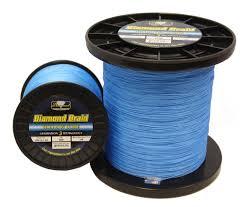 3000yds Blue <b>Hollow</b> Core Diamond Braid Line | Capt. Harry's ...