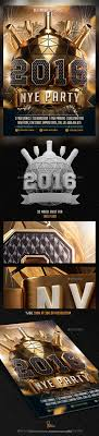2016 new years eve nye flyer template by saltshaker911 graphicriver 2016 new years eve nye flyer template holidays events