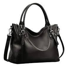 Heshe Women's Leather Handbags Shoulder Tote ... - Amazon.com
