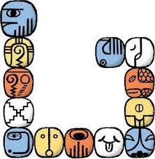 Resultado de imagen para calendario maya aguila magnetica azul