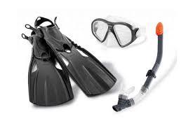 Комплект для <b>плавания</b>: маска, трубка, ласты <b>INTEX</b> 55657 ...