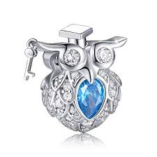 FOREVER QUEEN Graduate Owl Charm 925 Sterling ... - Amazon.com