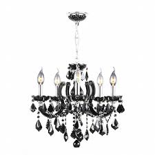catherine collection 8 light chrome finish with black crystal chandelier black crystal chandelier lighting