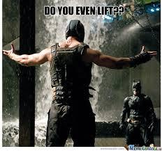 GAGBAY - Do you even lift Batman via Relatably.com