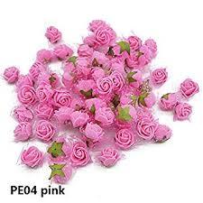 Aosreng 50Pcs/Lot Mini Foam Rose Artificial Flower ... - Amazon.com