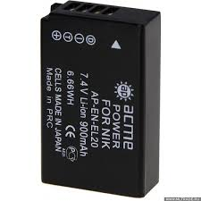 <b>Аккумулятор для фотокамеры AcmePower</b> AP-EN-EL20 900mAh ...