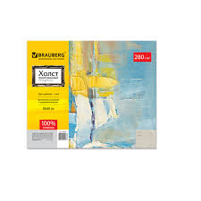 <b>Холст на картоне BRAUBERG</b> ART CLASSIC, 50х60 см ...