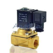 "1/2"" BSP <b>AC220V 110V DC24V</b> DC12V Brass Solenoid Valve Water ..."