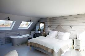 Loft Conversion Bedroom Design Master Suite Loft Conversion With Free Standing Roll Top Bath