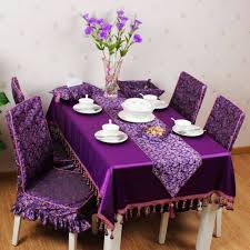 Floral Dining Room Chairs 6 Dining Room Chairs And Dark Violet Floral Pattern Cover On White