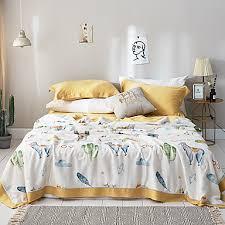 Comfortable - <b>1pc</b> Quilt Spring & Fall Polyester <b>Cartoon</b> 7255805 ...