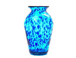 best ideas hand blown glass vases simple ideas blue color decorating room turquoise and cobalt mexican bubble bubble hand blown glass