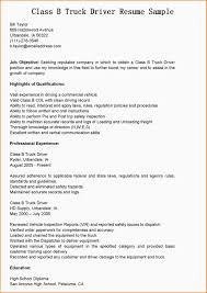 7 commercial truck driver resume sample paradochart related for 7 commercial truck driver resume sample