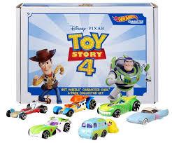 <b>Машинки Hot Wheels</b> Toy Story 4: коллекция героев на колесах ...