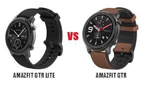 Huami <b>Amazfit GTR</b> Lite VS <b>Amazfit GTR</b>: What's the Difference ...