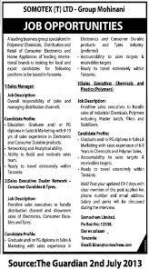 s managaer s executive tayoa employment portal job description