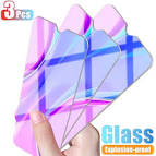 <b>3Pcs Protective Glass For</b> Xiaomi Redmi 8 7 9 9A 9C Film Tempered ...