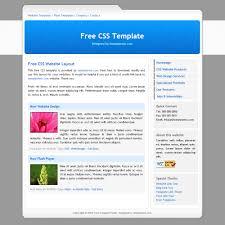 column website templates
