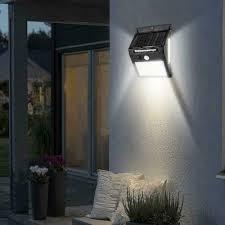 <b>100 LED Solar</b> Power Light <b>PIR</b> Motion Sensor Security <b>Outdoor</b> ...