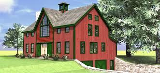 The Haley   Barn Style Carriage House Plan   Barn Home PlansThe Haley carriage house barn home plan