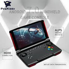 106.26US $ 23% OFF|<b>Powkiddy X18 Andriod Handheld</b> Game ...