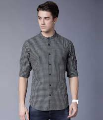 Black Shirts - Buy <b>Black Mens</b> Shirts Online at Best Prices In India ...