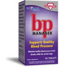 BP (<b>Blood Pressure</b>) <b>Manager</b>, <b>90 Tablets</b> | Enzymatic Therapy ...