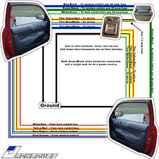 car mirror wiring diagram wiring diagram for ford raptor the Electric Car Wiring Diagram Switches wiring diagram for electric car windows wiring honda accord power window wiring diagram jodebal com on Basic Car Wiring Diagram