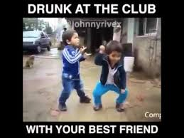DRUNK AT THE CLUB WITH YOUR BEST FRIEND - YouTube via Relatably.com