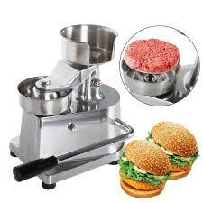<b>ITOP</b> 100mm 130mm <b>Hamburger</b> Meat Press <b>Patty</b> Maker Forming ...