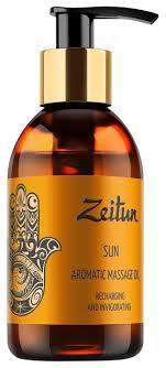 Масло для тела <b>Zeitun ароматическое массажное</b> Солнце ...