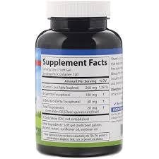 <b>E</b>-<b>Gems Elite</b>, <b>витамин E</b>, <b>268 мг</b> (400 МЕ), 120 мягких таблеток ...