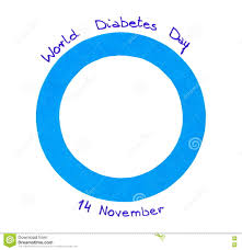 blue circle of paper on white background symbol of world diabetes blue circle of paper on white background symbol of world diabetes day royalty stock