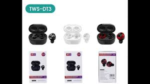<b>DT</b>-03 Auto-pairing <b>TWS Earbuds</b> Mini Size - YouTube