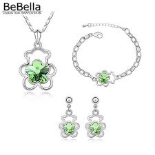Комплект украшений BeBella с кристаллами <b>Swarovski</b>, <b>колье</b> ...