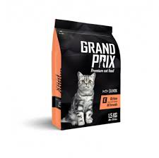 <b>GRAND</b> PRIX Kitten <b>Сухой корм</b> для котят с лососем