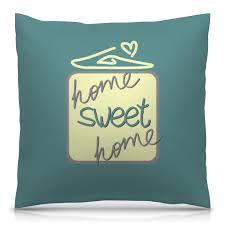 Printio подушка home <b>sweet</b> home купить на выгодных условиях с ...