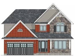 CANADIAN HOME DESIGNS   House Plans  amp  Garage PlansThe Hudson two storey house plan