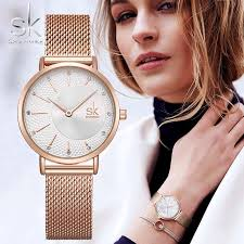 <b>SHENGKE</b> SK <b>Women Watch</b> Top Brand <b>Luxury</b> 2019 Rose Gold ...