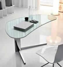 lavish tempered glass office desk stainless modern glass office desk full size of bush aero office desk design interior fantastic