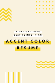 emphasize career highlights on your resume by using color emphasize career highlights on your resume by using color strategically templates