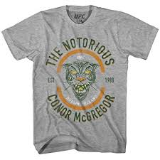 Conor Mcgregor Mens UFC Shirt - The Notorious ... - Amazon.com