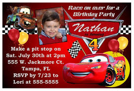 40th birthday ideas birthday invitation templates cars disney cars birthday party invitations