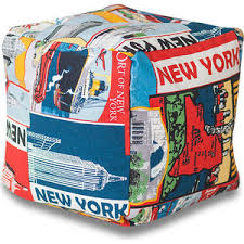 <b>Пуф Bean-bag Кубик</b> - New York | www.gt-a.ru