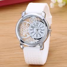 MEIBO Brand <b>Fashion Silicone Rubber Watch</b> Casual <b>women's</b> slim ...