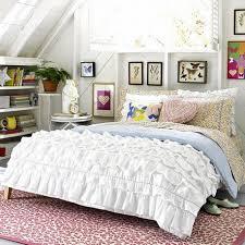 charming teen vogue bedding set bedroom white bed set