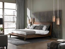 master bedroom feature wall:  of late muted grey colour palette in master bedroom with feature wall behind bedroom