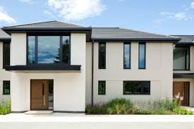 gray and white exterior house magnificent of chic house building with black and white exterior colors chic white home