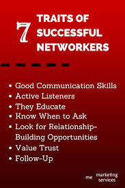 traits of successful networkers